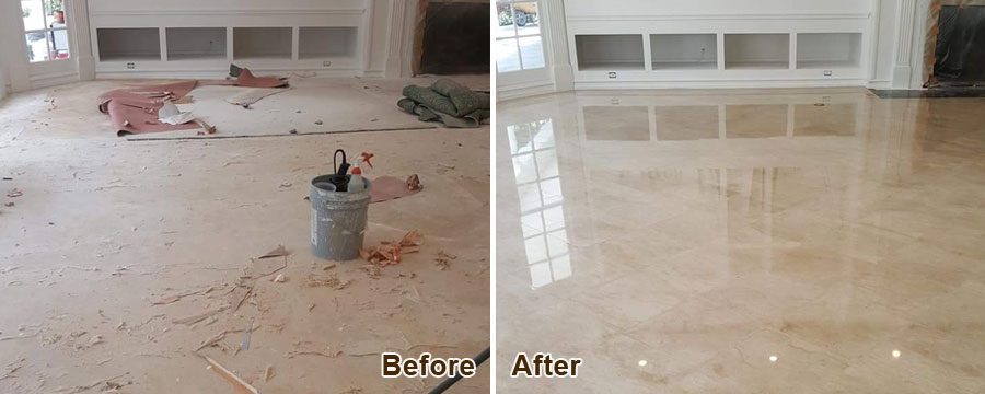 Marble Floor Polishing in Orange County, CA
