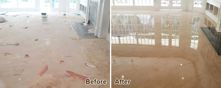 Stone Floor Restoration in Orange County, CA