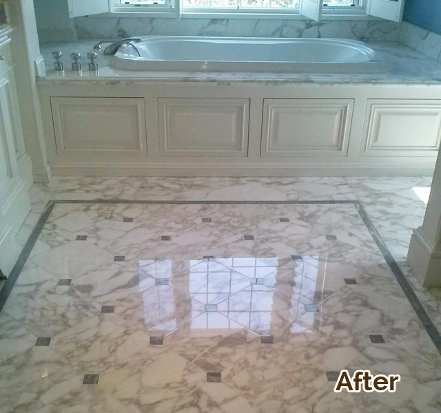Marble Countertops & Sinks Restoration