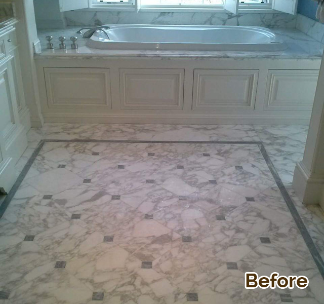 Tustin, CA Marble Floor Stain Removal